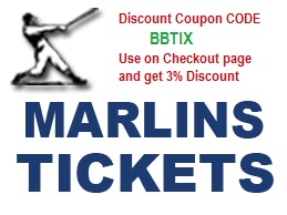 Marlins Discount Coupon